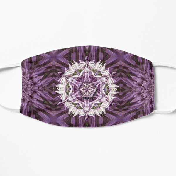 Lilacs in Bloom Mask
