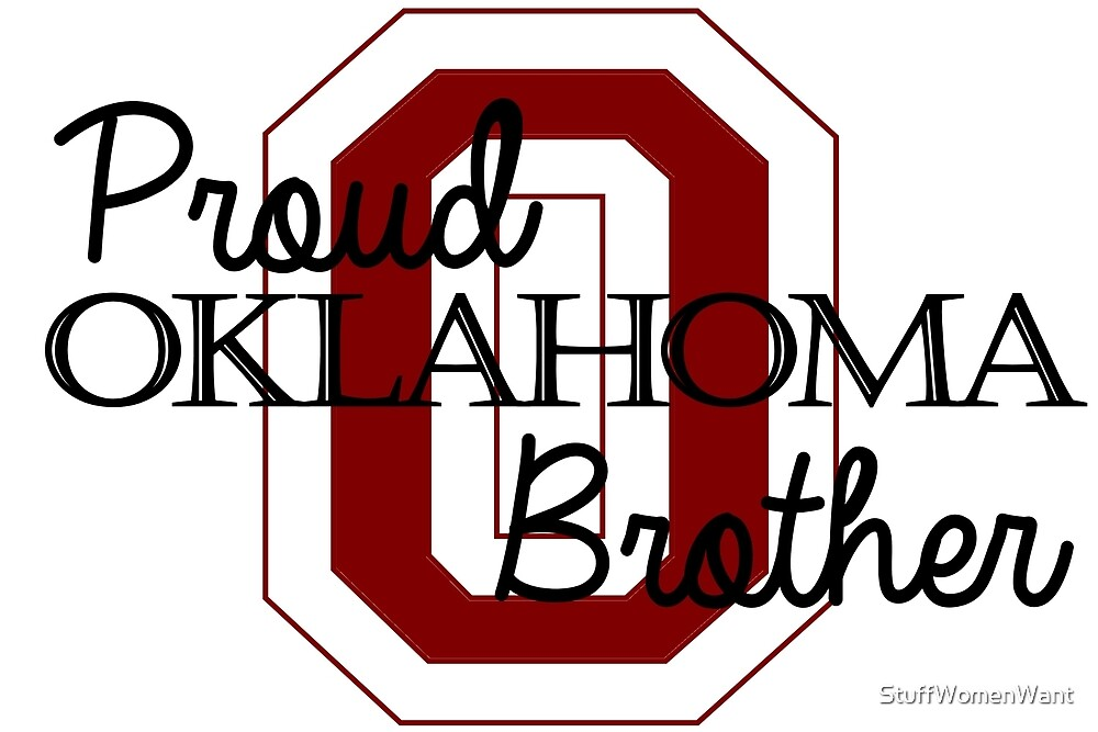 Proud Oklahoma Brother 2 by StuffWomenWant