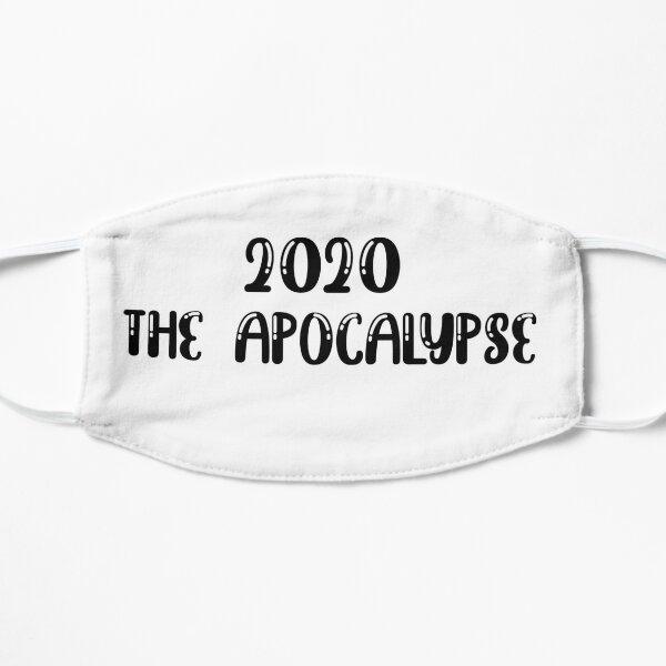 2020 the apocalypse Flat Mask