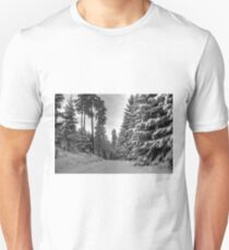 Winter in Forsheda's track II Unisex T-Shirt