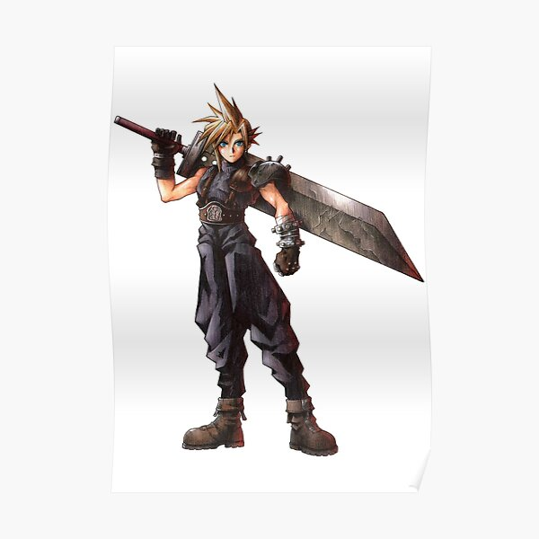 Final Fantasy VII - Cloud  Poster