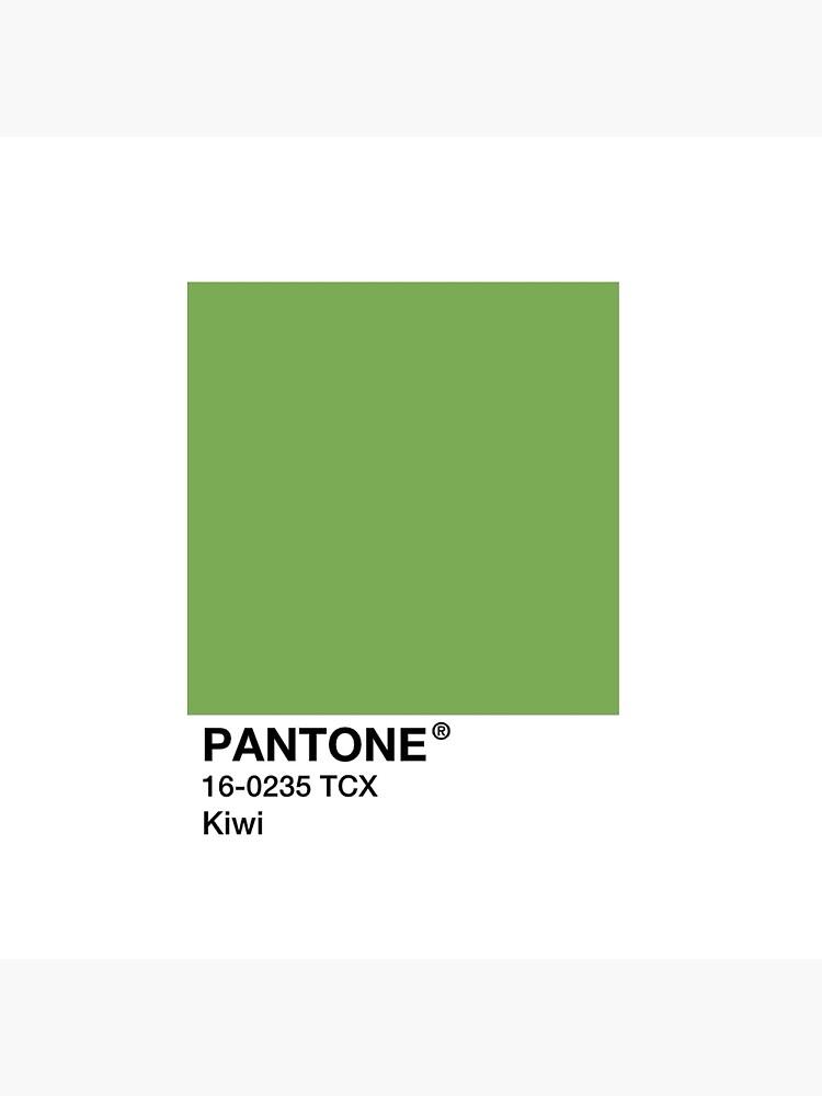 PANTONE Kiwi - Green by Mushroom-Gorge