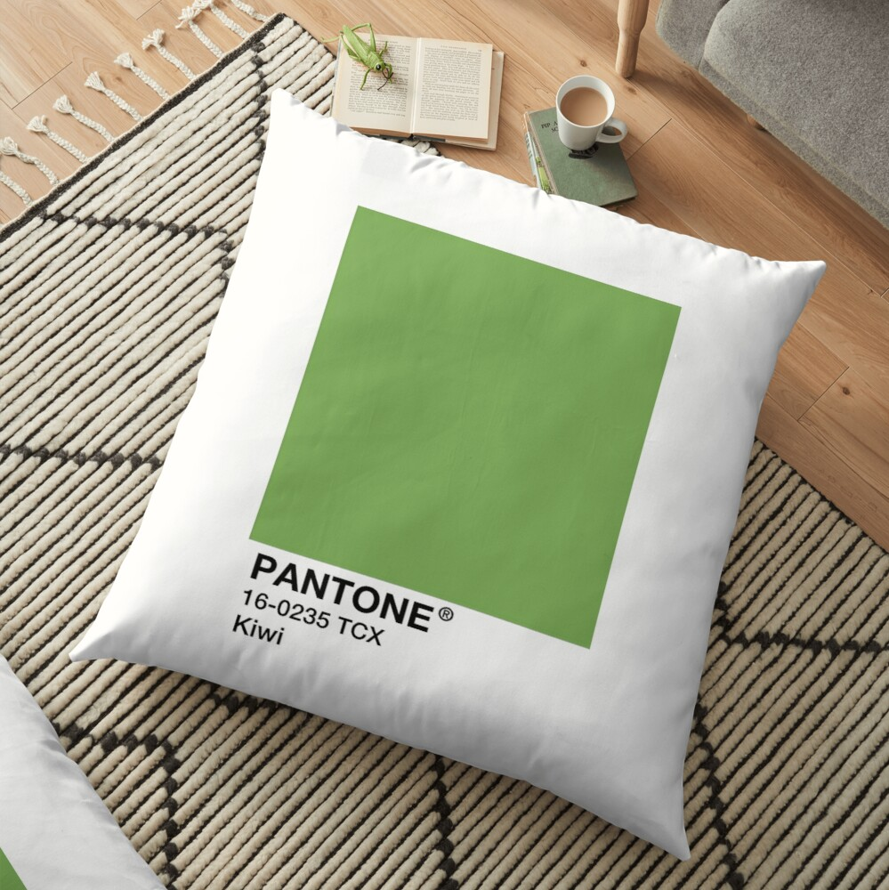 PANTONE Kiwi - Green Floor Pillow