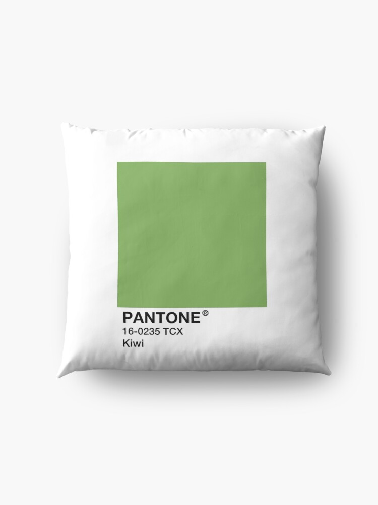 Alternate view of PANTONE Kiwi - Green Floor Pillow