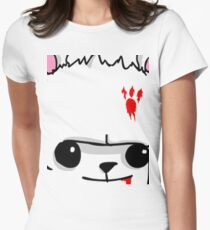 Castle Crashers Bear Face Women's Fitted T-Shirt