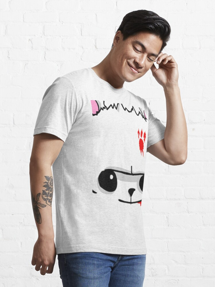 Alternate view of Castle Crashers Bear Face Essential T-Shirt