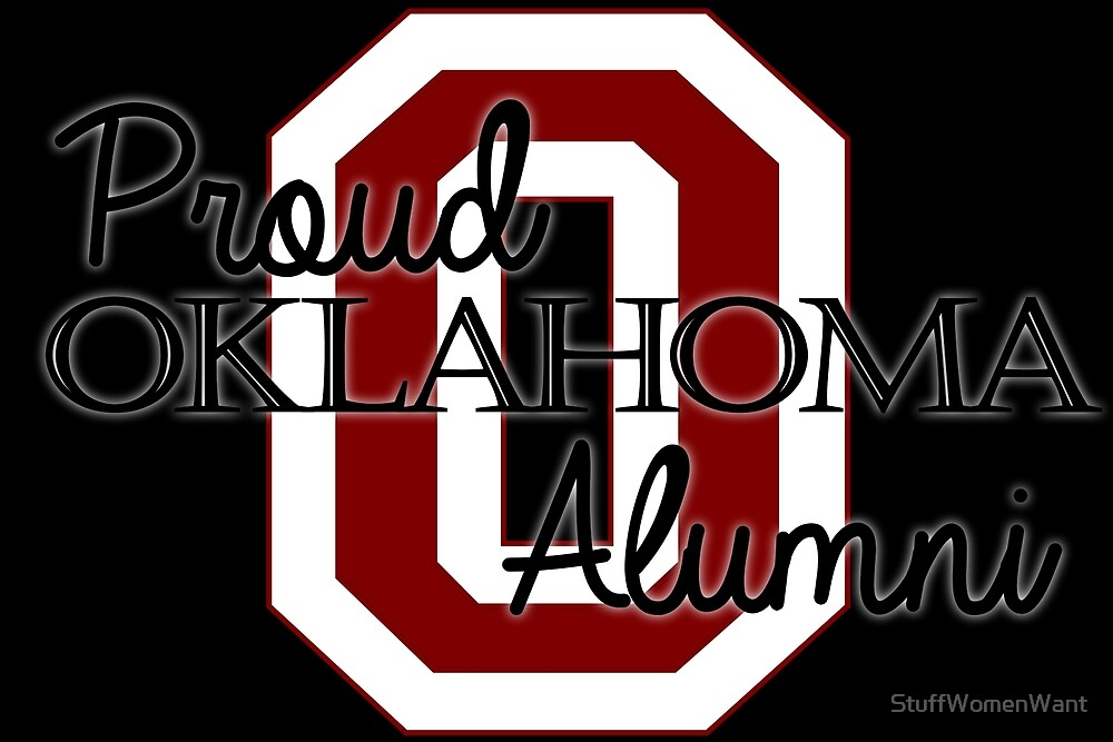 Proud Oklahoma Alumni 2 for Dark Backgrounds by StuffWomenWant