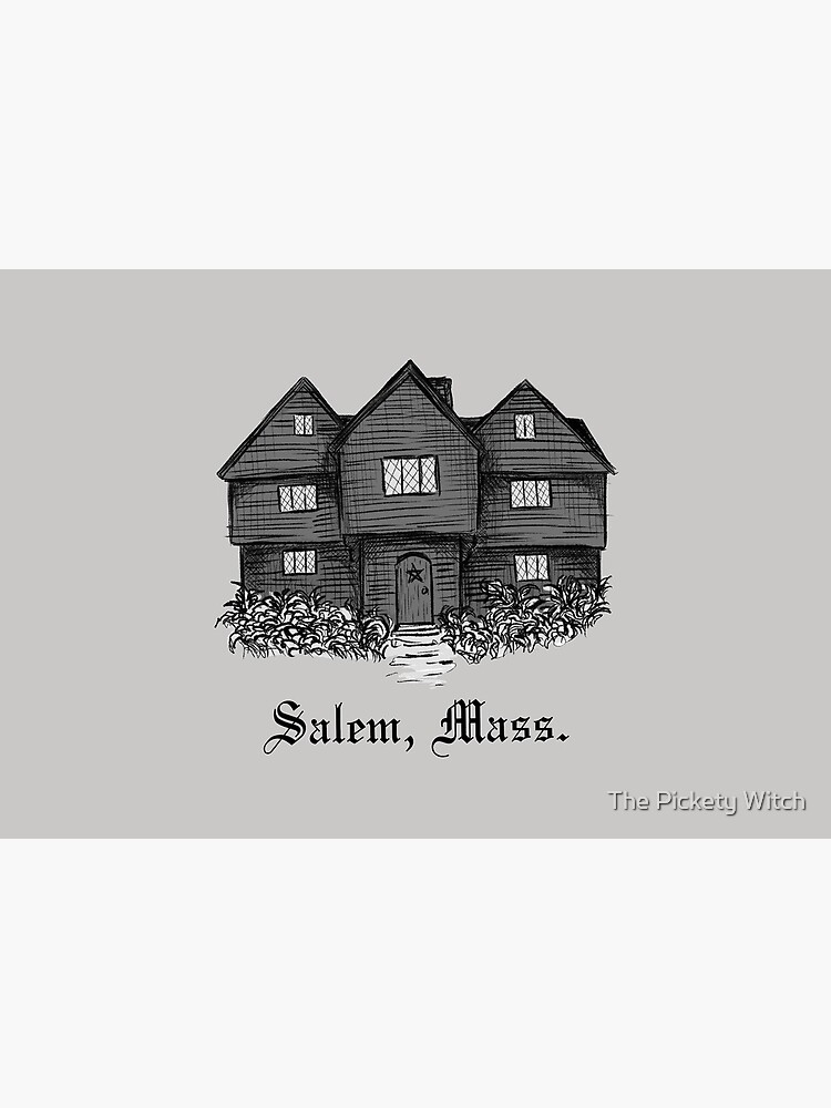 The Witch House - Salem, Mass. by PicketyWitch23
