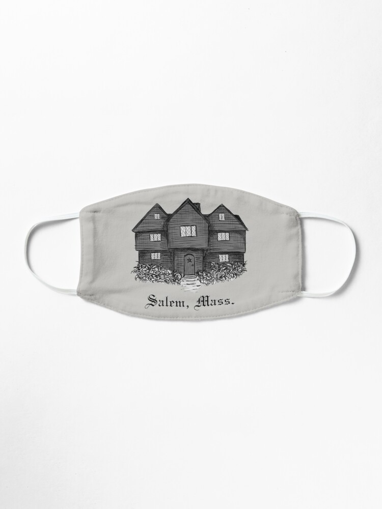 Alternate view of The Witch House - Salem, Mass. Mask