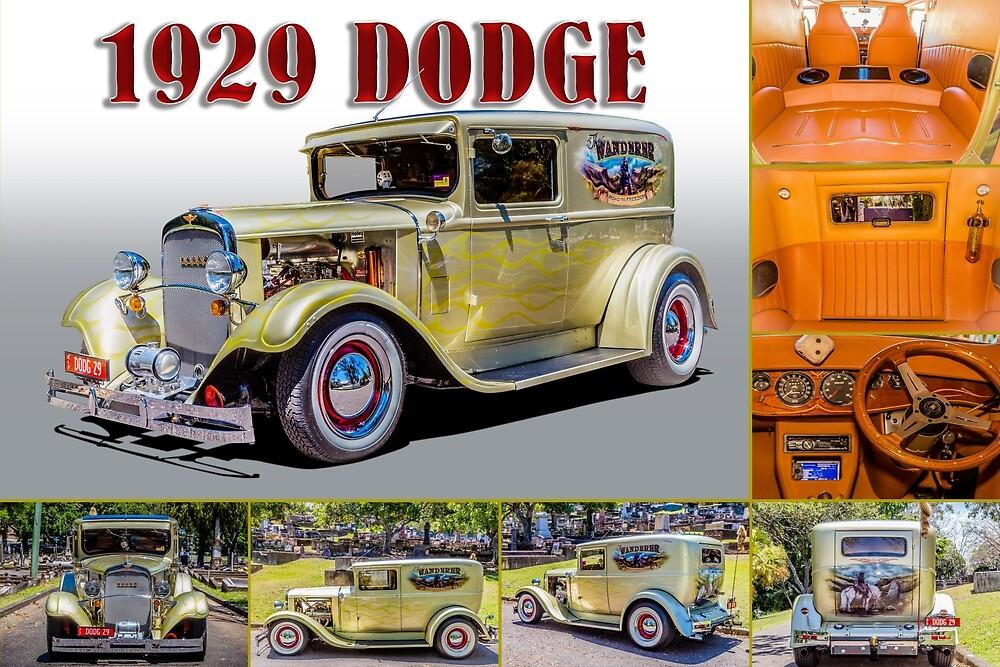 1929 Dodge Composite by Keith Hawley