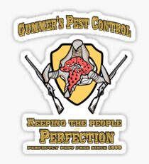 Gummer's Pest Control Sticker