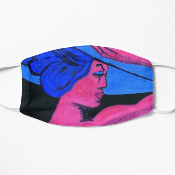 Das blaue Korsett Flache Maske