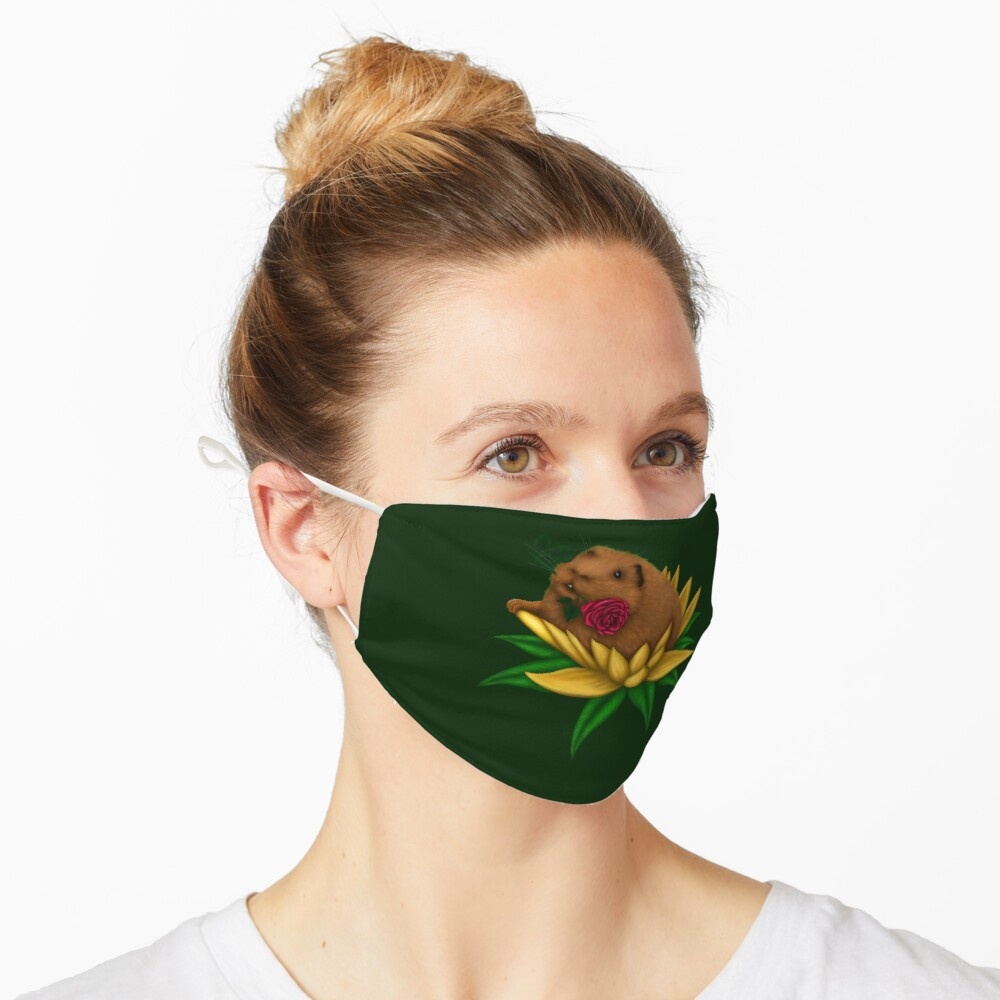 Blooming Guinea Pig Mask