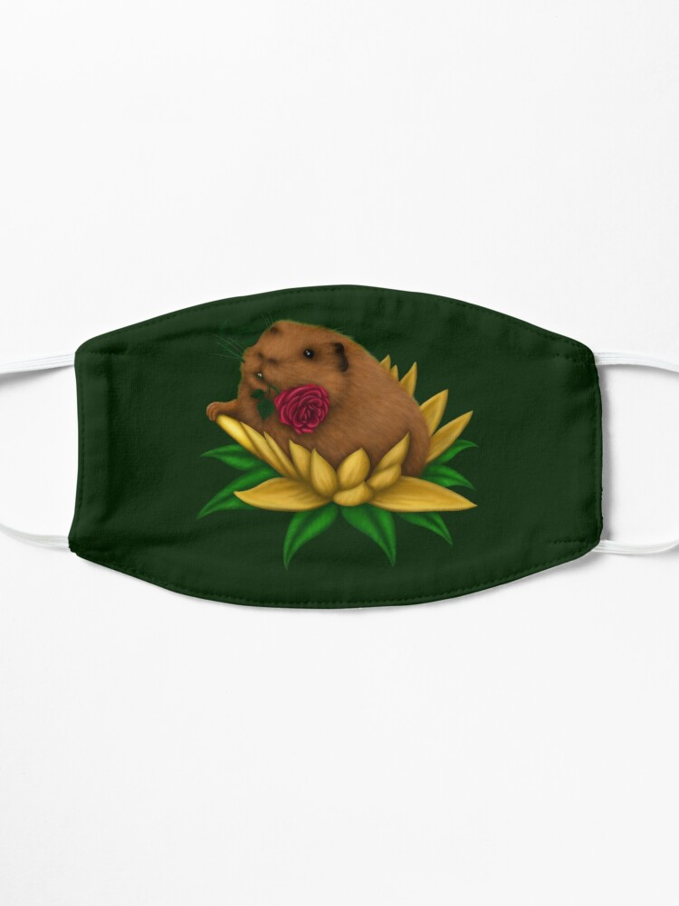 Alternate view of Blooming Guinea Pig Mask
