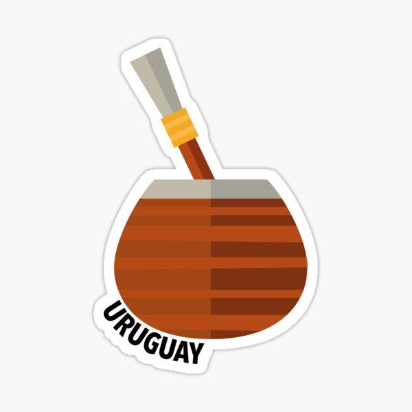 Té Mate Uruguay Pegatina