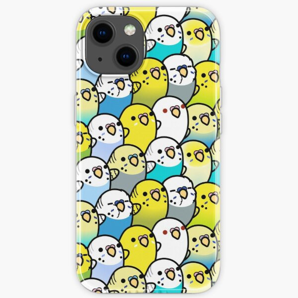 Bunches of Budgies  iPhone Soft Case