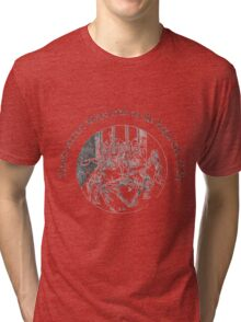 Morris Dancer's Always Look On The Bright Side Of Life Tri-blend T-Shirt