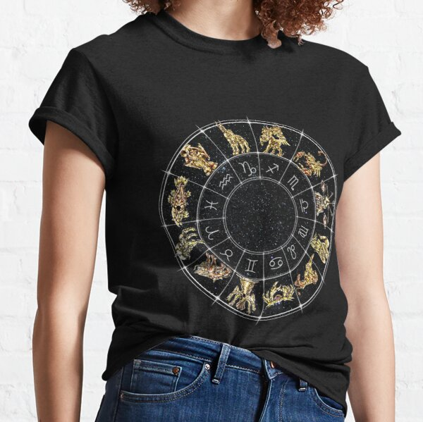 Zodiac Wheel - Saint Seiya Classic T-Shirt