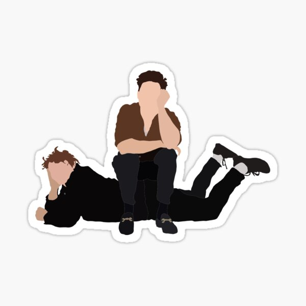 Niall Horan and Lewis Capaldi Sticker