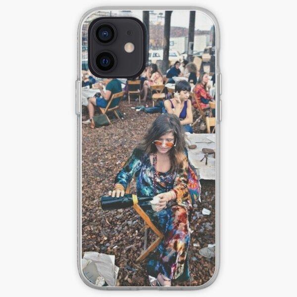 Janis Joplin en Woodstock Funda blanda para iPhone