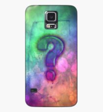 Question Mark - iPhone and iPod skin - case - cover Case/Skin for Samsung Galaxy