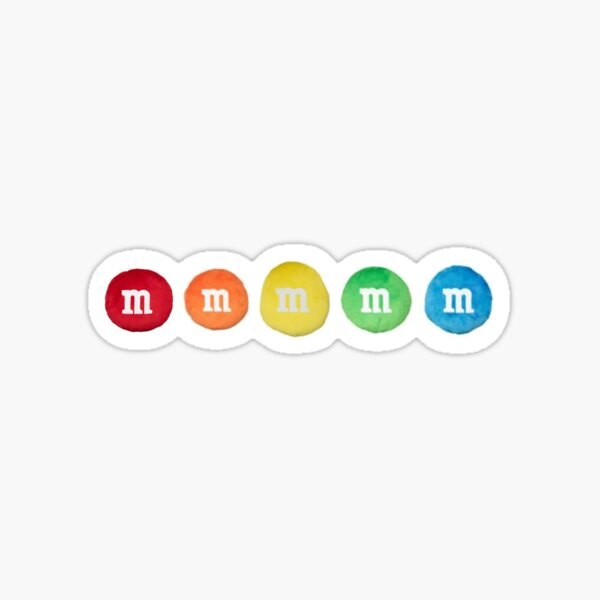 m&m Sticker