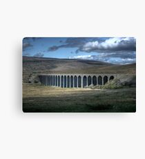 Ribblehead HDR Canvas Print
