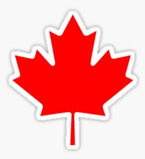 Maple Leaf Bedspread - Canadian Symbol Canuck Icon Sticker