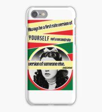 Constructivism Judy iPhone Case/Skin