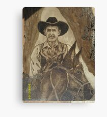 Cowhand Riden Canvas Print