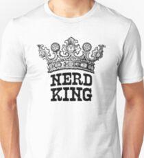 Nerd King Crown Logo (Black Ink) T-Shirt