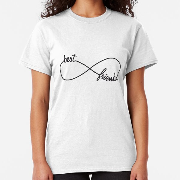 Best friends forever, infinity sign Classic T-Shirt