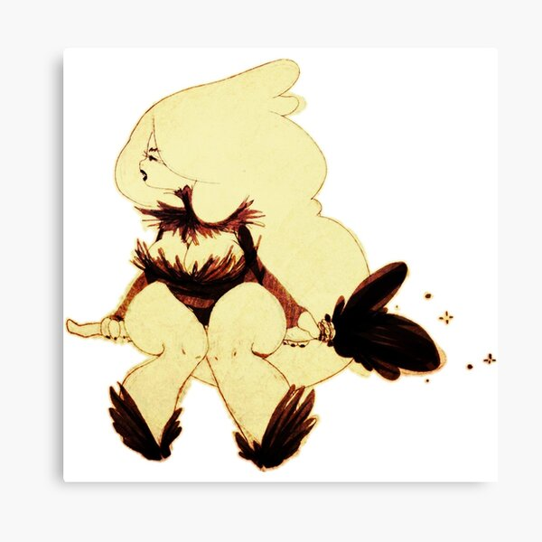 Bunny Witch Canvas Print