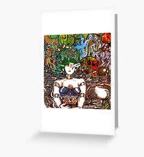 Mechanoid Planet [Colour Version] Greeting Card