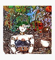 Mechanoid Planet [Colour Version] Photographic Print