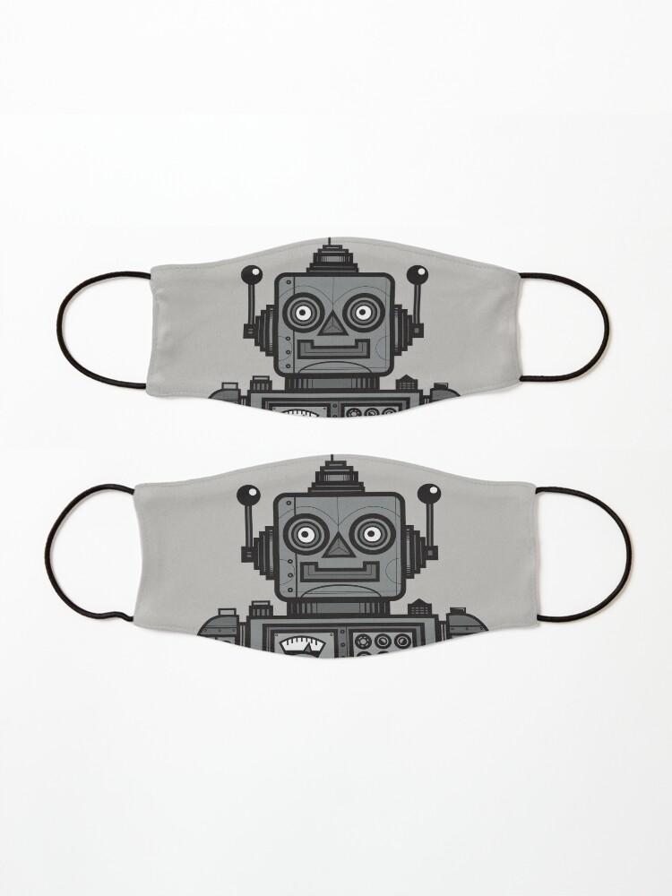 Alternate view of Vintage Robot Mask