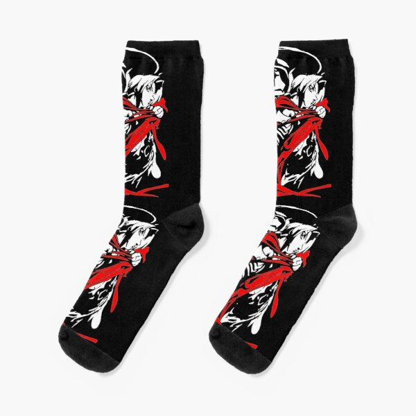 Fullmetal Alchemist - Alphonse and Edward Elric Socks