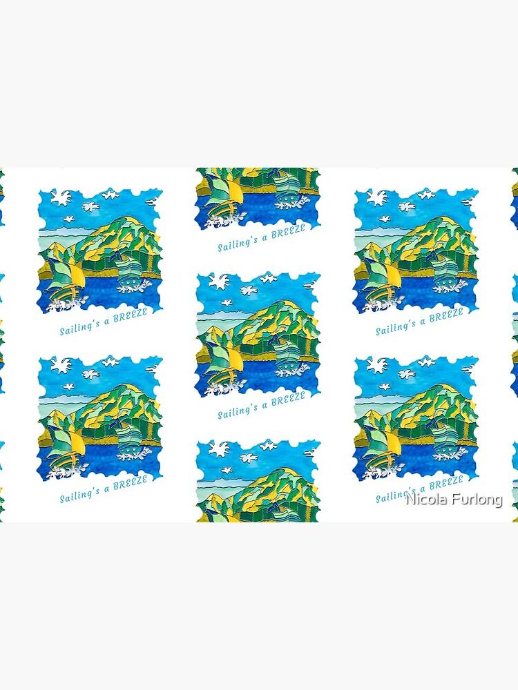 SAILING'S A BREEZE - OCEAN ART by nicolafurlong