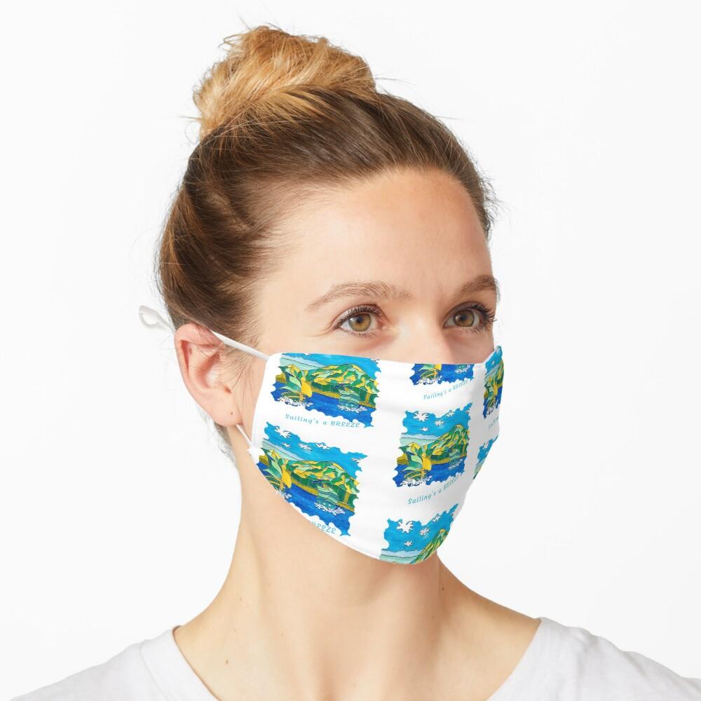 SAILING'S A BREEZE - OCEAN ART Mask