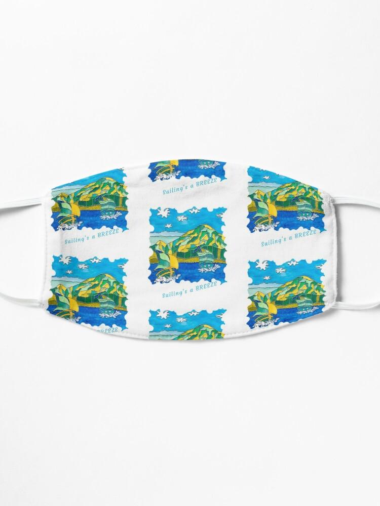 Alternate view of SAILING'S A BREEZE - OCEAN ART Mask