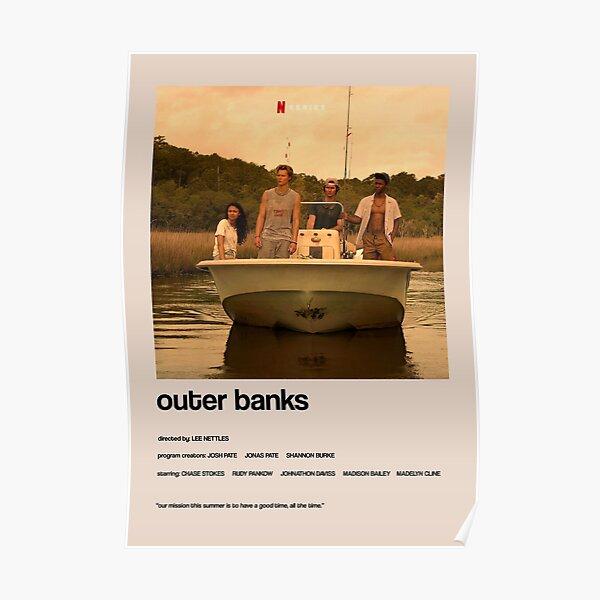 Outer Banks - Autre couverture minimaliste Poster