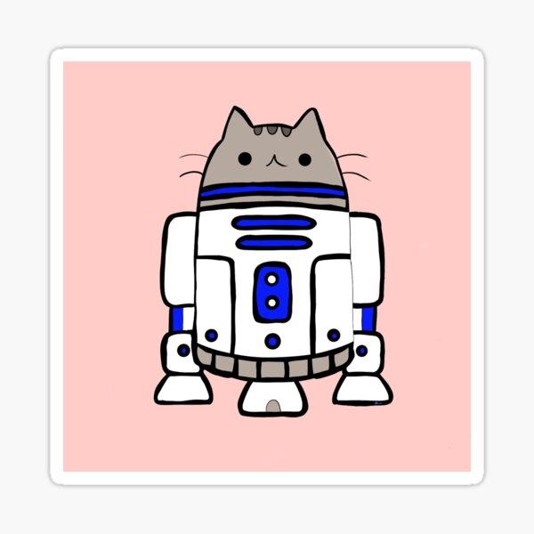 R2Cat2 Sticker