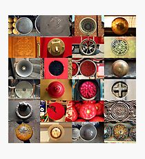 24 City Circles  Photographic Print