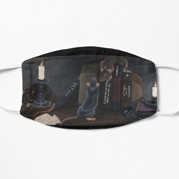 Library Rats Flat Mask