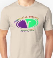 Approved Vagetarian Unisex T-Shirt