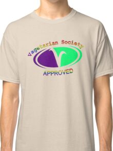 Approved Vagetarian Classic T-Shirt