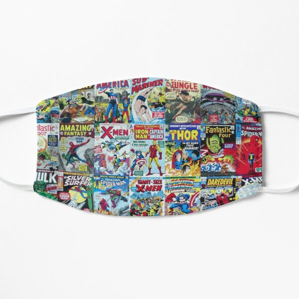 Retro Comic book collection Mask