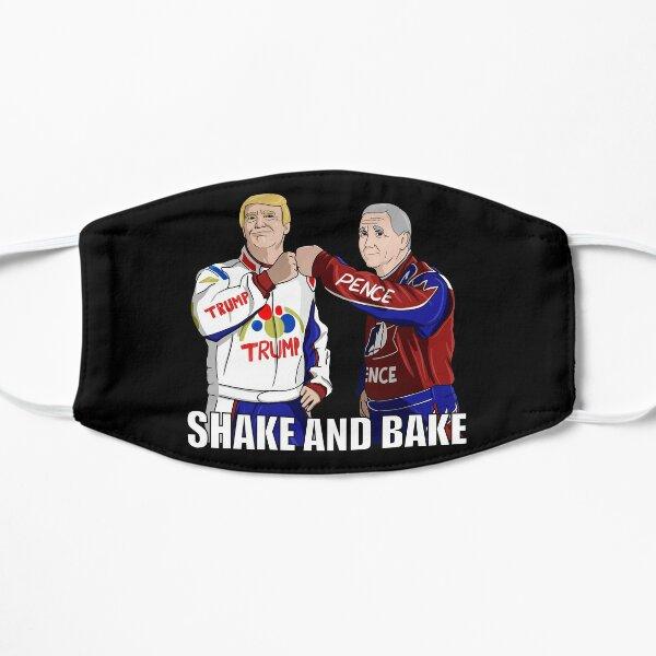 Shake and Bake Trump and Pence Flat Mask