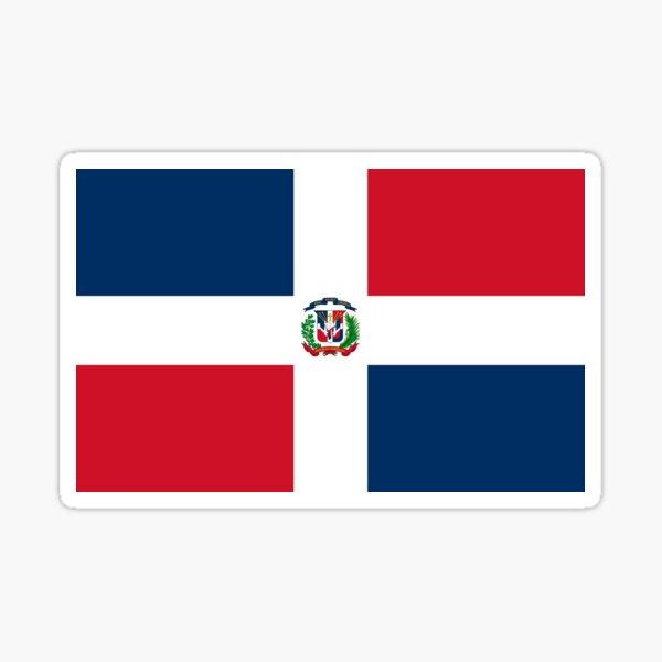 Dominican Republic Flag Duvet Sticker T-Shirt Cell Phone Case Sticker