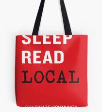 Eat Sleep Read Local Tote Bag